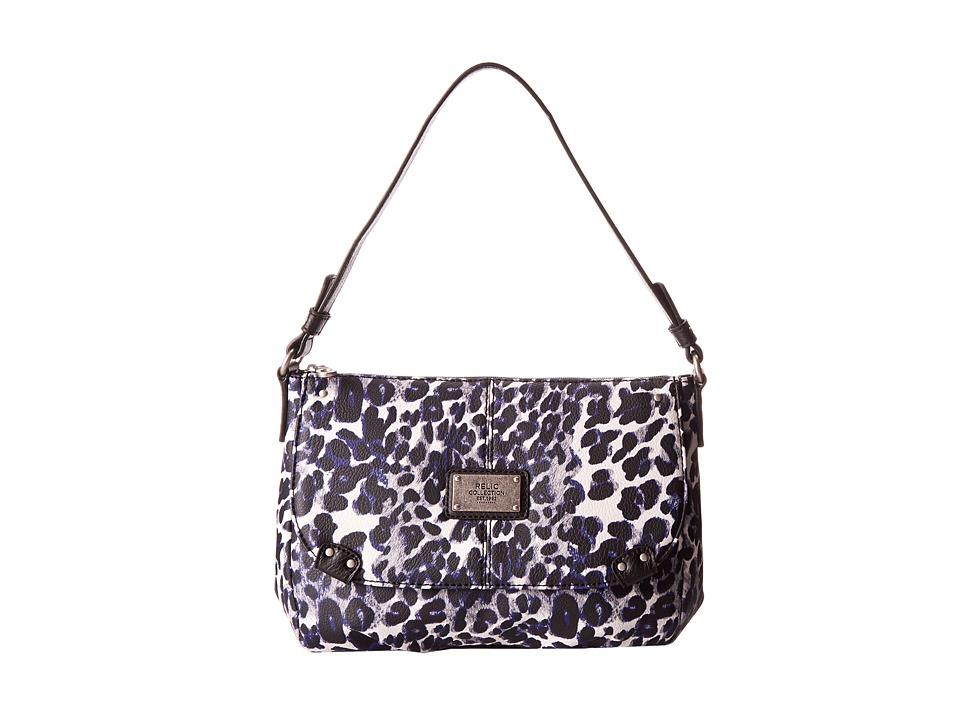 Relic - Blakely Top Zip (Blue Multi) Handbags