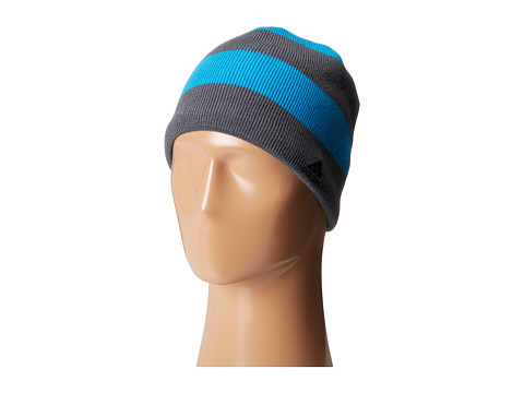 adidas - Digger Reversible Beanie (Solar Blue/Onyx) Beanies