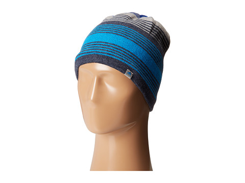 adidas - Half Pipe Reversible Beanie (Heather Collegiate Navy/Light Heather Grey/Solar Blue/Collegiate) Beanies