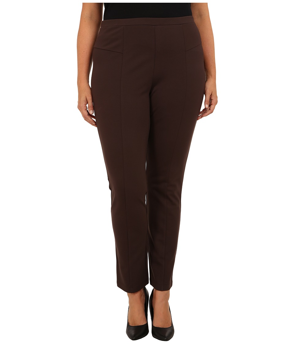 NIC+ZOE - Plus Perfect Ponte Pant in River Rock (River Rock) Women's Casual Pants