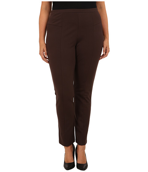NIC+ZOE - Plus Perfect Ponte Pant in River Rock (River Rock) Women