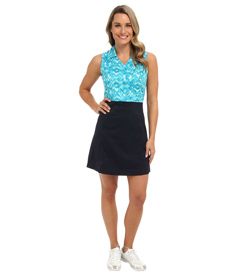 Tail Activewear - Kay Dress (Midnight Navy/Agua) Women's Dress