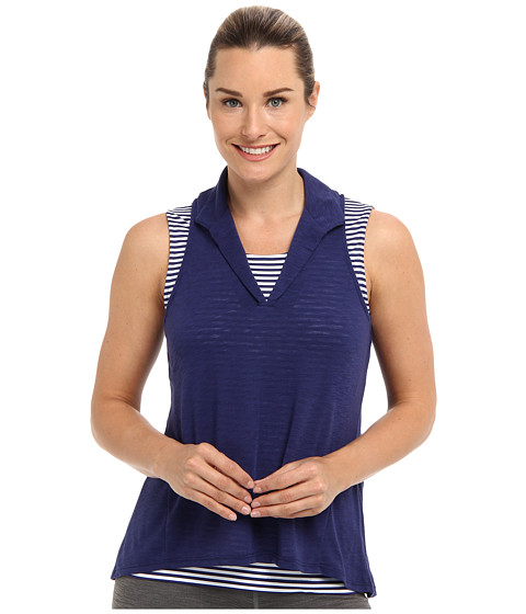 Tail Activewear - Isla Slub Jersey Racerback Top (Lakestorm) Women