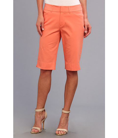 Christin Michaels - Madison Bermuda Short (Coral) Women's Shorts