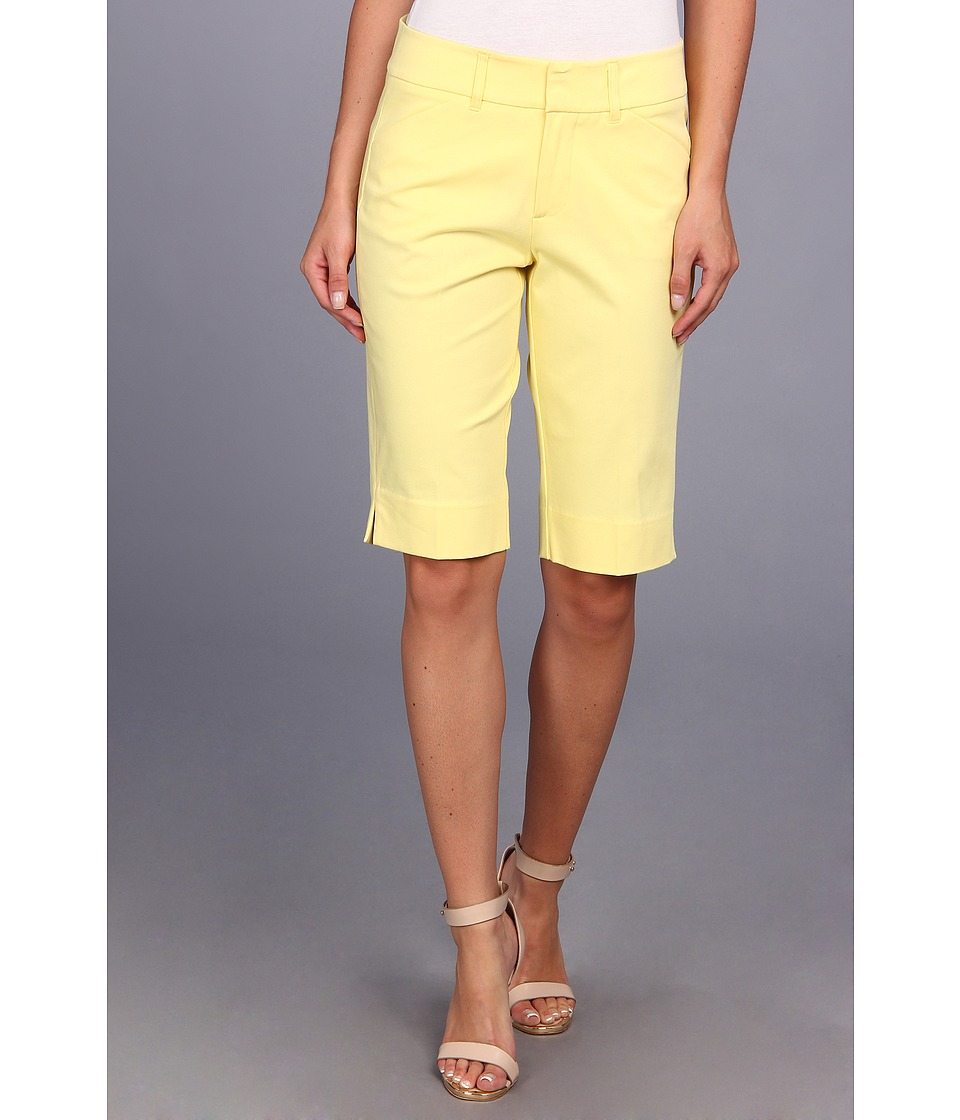 Christin Michaels - Madison Bermuda Short (Butter) Women's Shorts