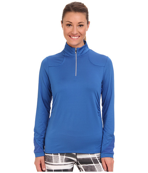 Tail Activewear - Avery Mock Neck L/S Top (Nautical) Women