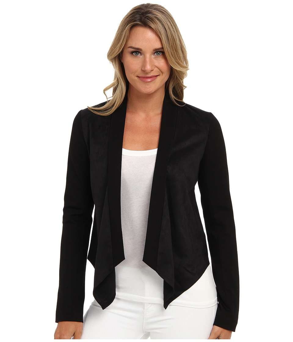NYDJ - Faux Suede Shrug (Black) Women
