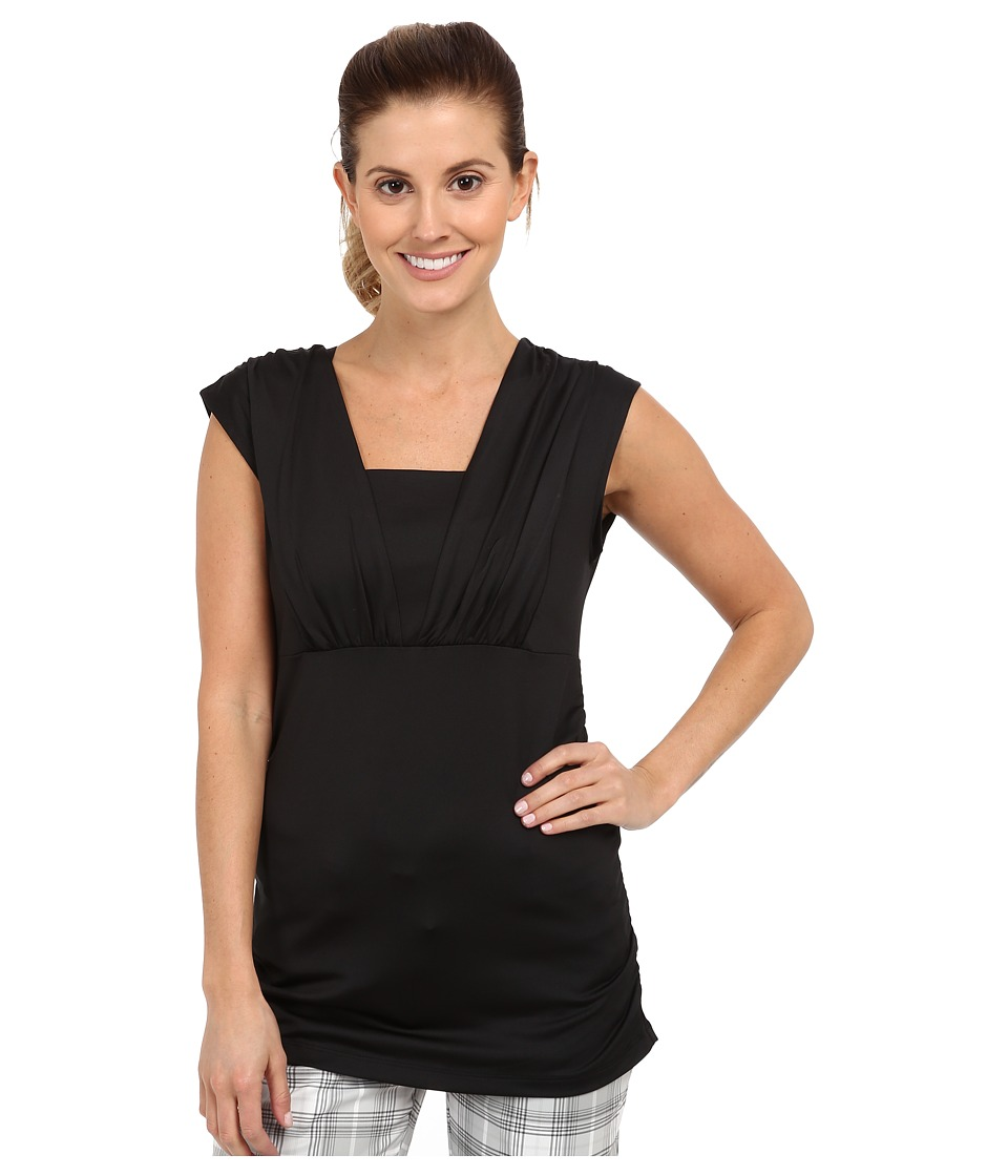 Tail Activewear - Ashtanga Performance Jersey (Black) Women's Sleeveless