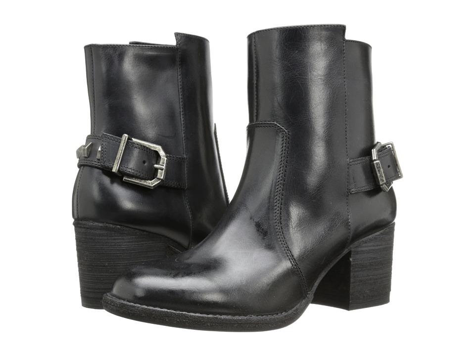 Kenneth Cole New York - Fennick (Black Leather) High Heels