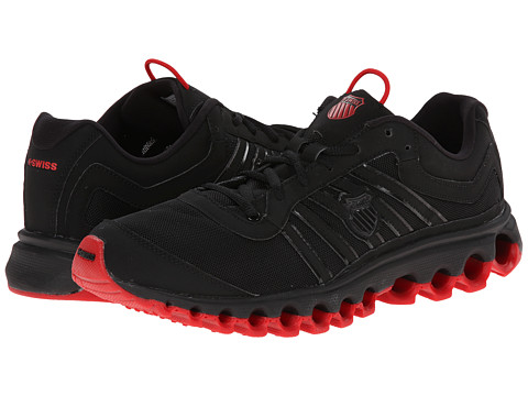 K-Swiss - Tubes 150 SNBK (Black/Red) Men's Running Shoes