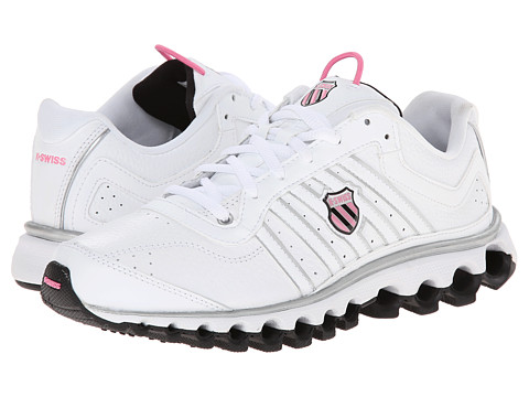 K-Swiss - Tubes 150 L (White/Black/Sachet Pink) Women