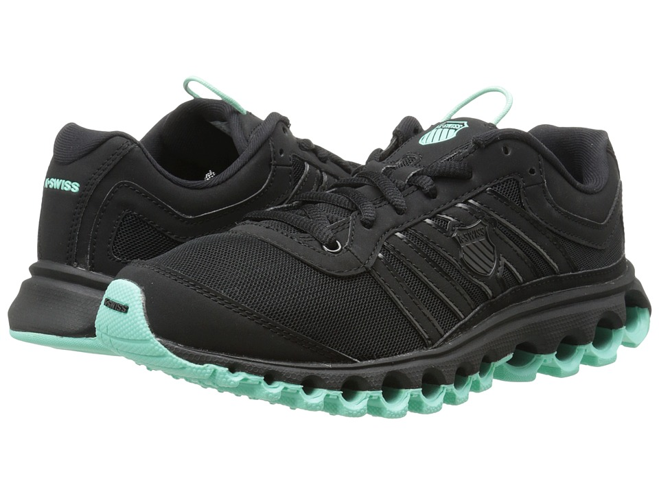 K-Swiss - Tubes 150 SNBK (Black/Ice Green) Women's Running Shoes