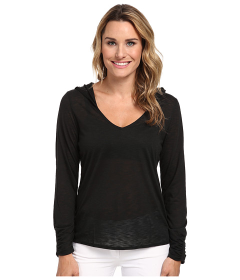 Tail Activewear - Phillipa Slub Jersey Hoodie (Black) Women