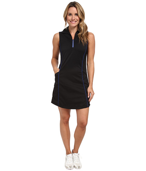 Tail Activewear - Bethany Dress (Black/Royal Blue) Women