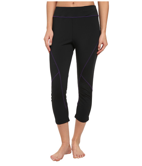 Tail Activewear - Joy Compression Legging (Black/Purple) Women
