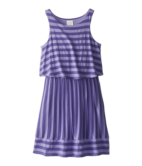 Ella Moss Girl - Waldo Stripe Tank Dress (Big Kids) (Purple) Girl