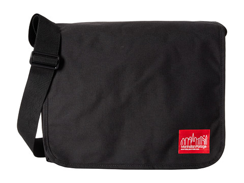 Manhattan Portage - Deluxe Computer Bag (15 Laptop) (Black) Messenger Bags