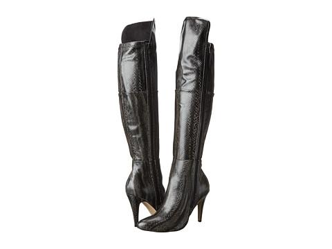 MIA - Anastasia (Black Multi Snake) Women's Boots