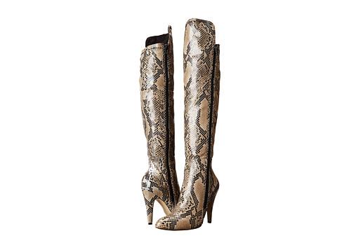 MIA - Anastasia (Beige Multi Snake) Women's Boots