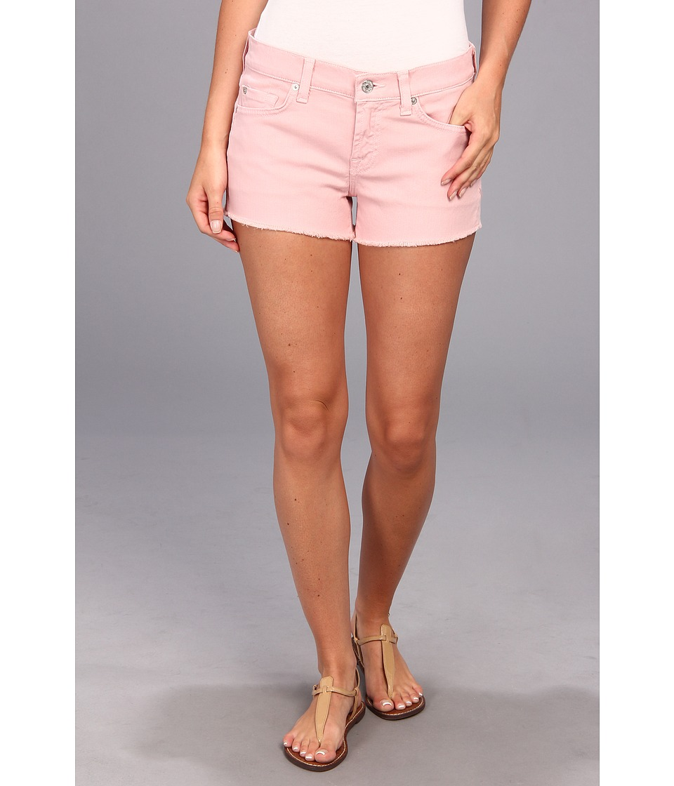 7 For All Mankind - Cut-Off Short (Soft Pink) Women's Shorts