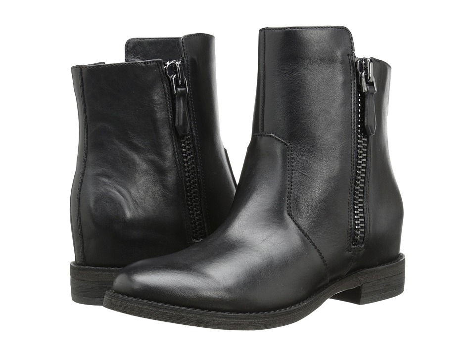 Kenneth Cole New York - Marcy (Black) Women's Zip Boots