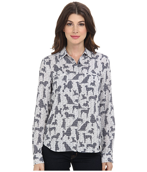 NYDJ - Westminster Print Blouse (Multi) Women's Blouse