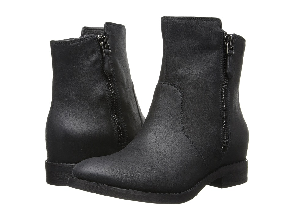 Kenneth Cole New York - Marcy (Black Nubuck) Women's Zip Boots