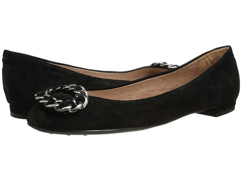 Nina Originals - Merit (Black Kid Suede) Women's Dress Flat Shoes