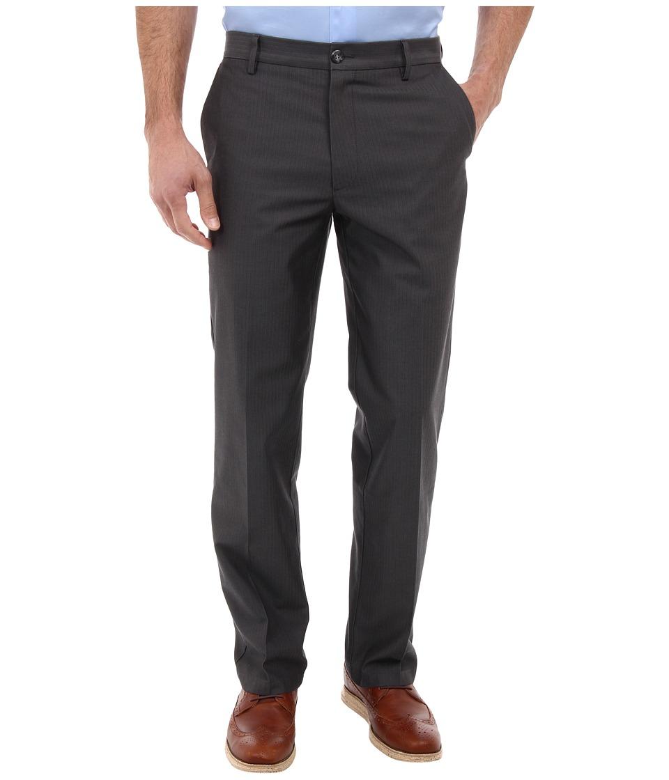 Dockers Men's - Signature Khaki D2 Straight Fit Flat Front (Smith Wf/Steelhead) Men's Casual Pants
