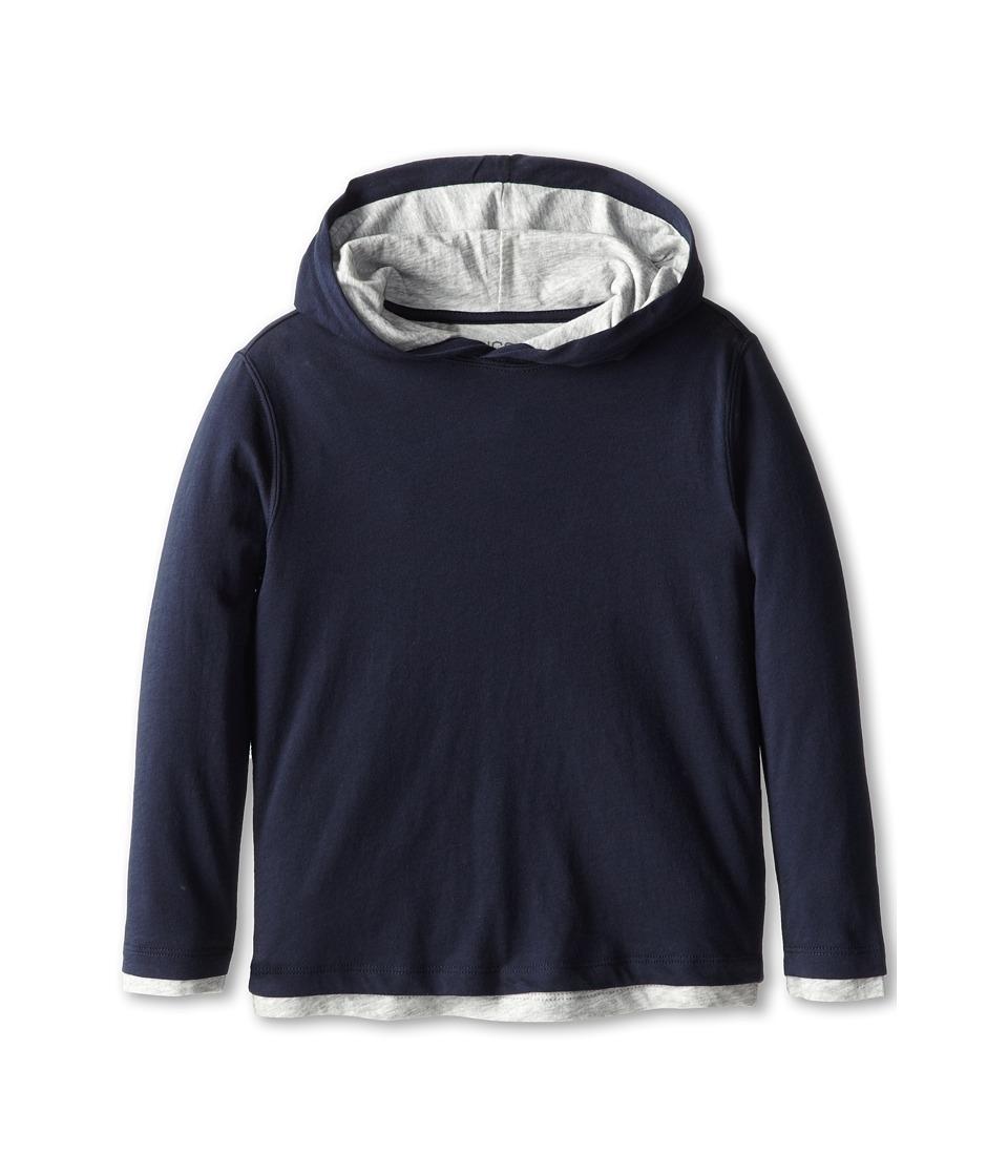 Vince Kids - L/S Double Layer Hoodie (Little Kids) (Coastal) Boy's Sweatshirt