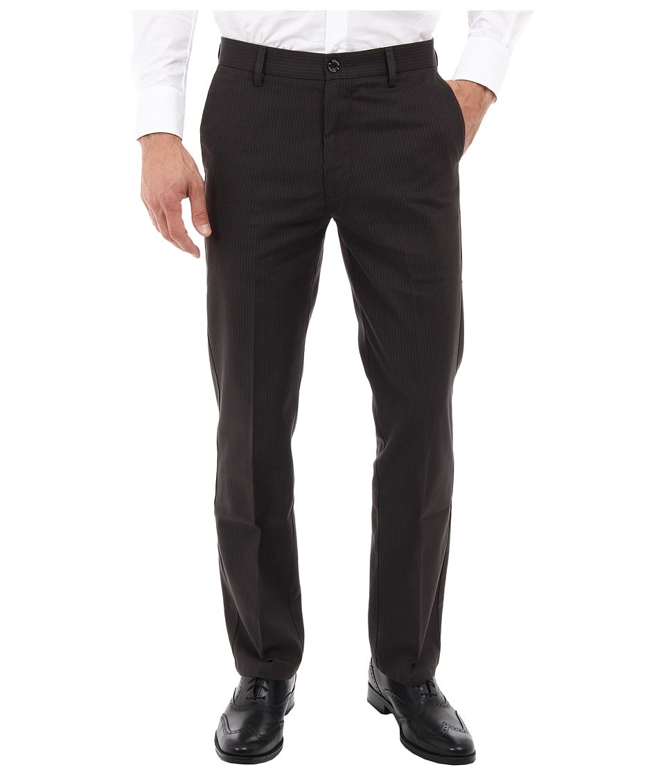Dockers Men's - Signature Khaki D1 Slim Fit Flat Front (Gibbons/Steelhead) Men's Dress Pants