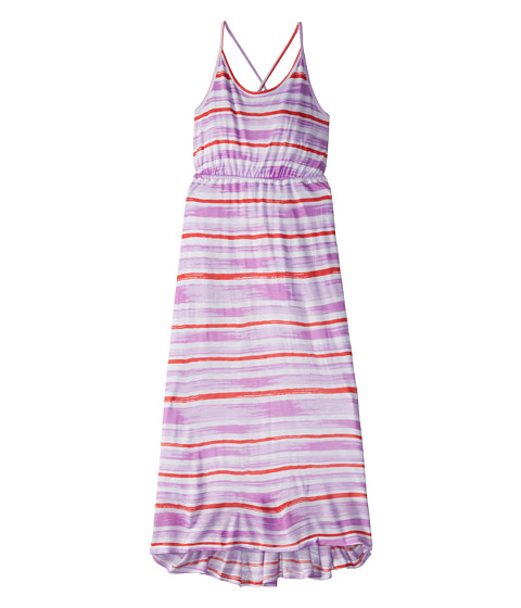 Splendid Littles - Painterly Slub High Low Maxi Dress (Big Kids) (Periwinkle) Girl's Dress