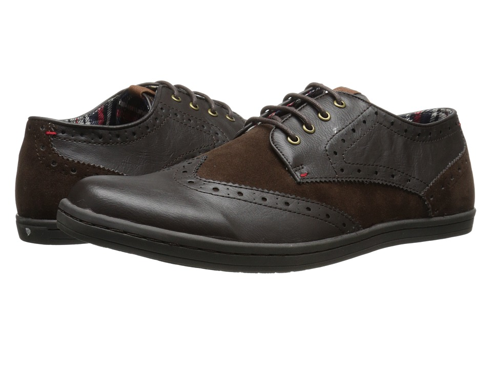 Ben Sherman - Ethan (Dark Brown) Men's Lace up casual Shoes