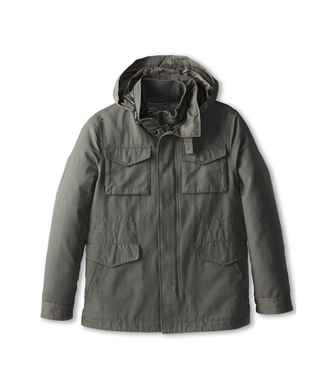 Vince Kids - 3 In 1 Field Jacket (Big Kids) (Gunmetal) Boy