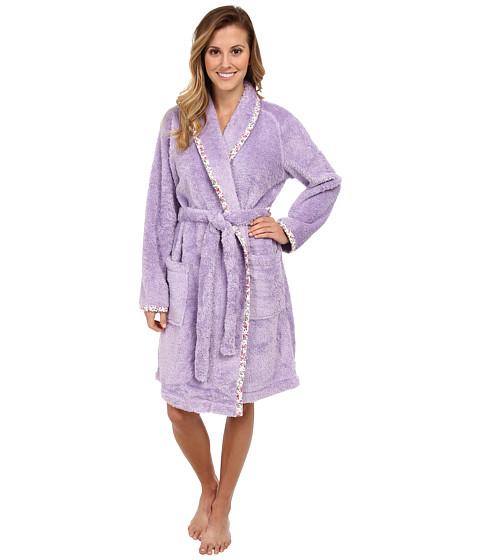 Carole Hochman - Sherpa Separates Short Robe (Lovely Lilac) Women