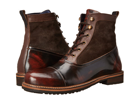 Ben Sherman - Rafe (Dark Brown) Men's Lace-up Boots