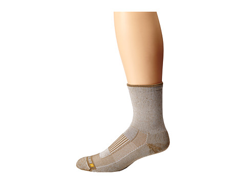 Drymax Sport - Lite Hiking Crew 3-Pair Pack (Tan - DISCONTINUED) Quarter Length Socks Shoes