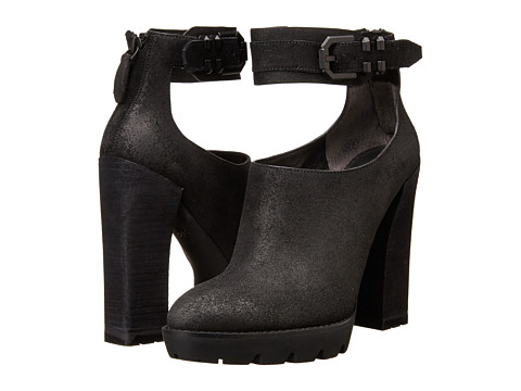 Shop Kenneth Cole New York online and buy Kenneth Cole New York Otto Black Suede High Heels shoes online