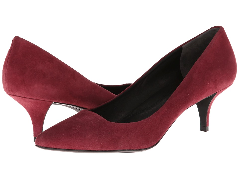 Kenneth Cole New York Pearl (Wine Suede) High Heels