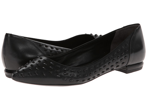 Kenneth Cole New York - Roland (Black Leather) Women's Flat Shoes