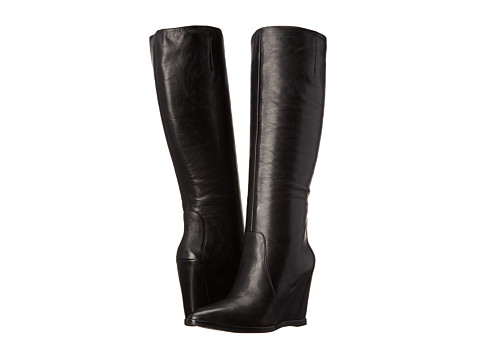 Kenneth Cole New York - Statton (Black Leather) Women's Dress Boots