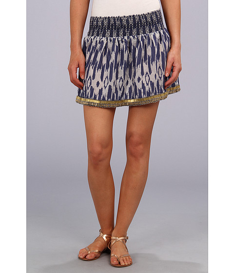 Dolce Vita - Amia Skirt (Cream/Blue) Women's Skirt