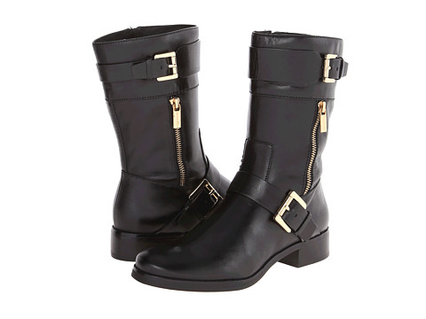 MICHAEL Michael Kors - Gansevoort Flat Boot (Black Vachetta) Women