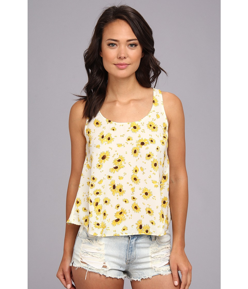 Dolce Vita - Rava Print Tank Top (White Floral) Women's Sleeveless