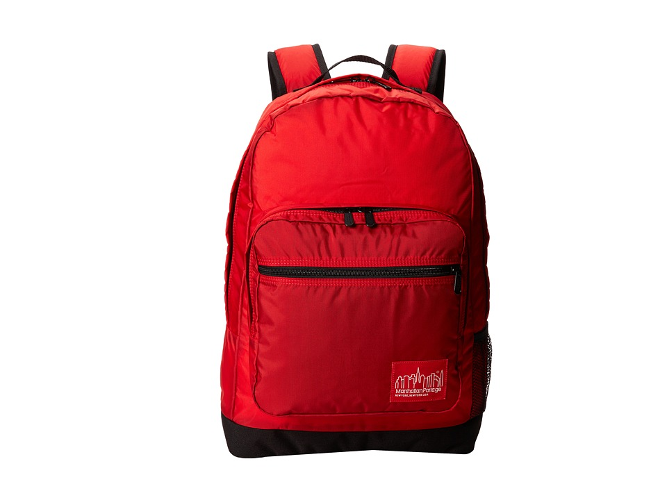 Manhattan Portage - CORDURA Lite Morningside Backpack (Red) Backpack Bags