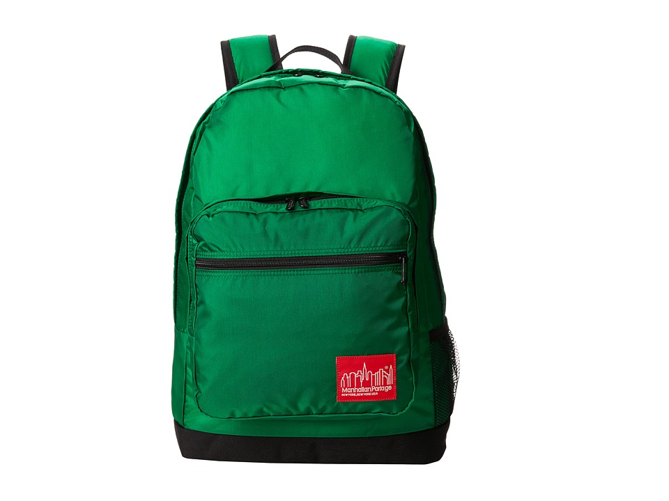 Manhattan Portage - CORDURA Lite Morningside Backpack (Green) Backpack Bags