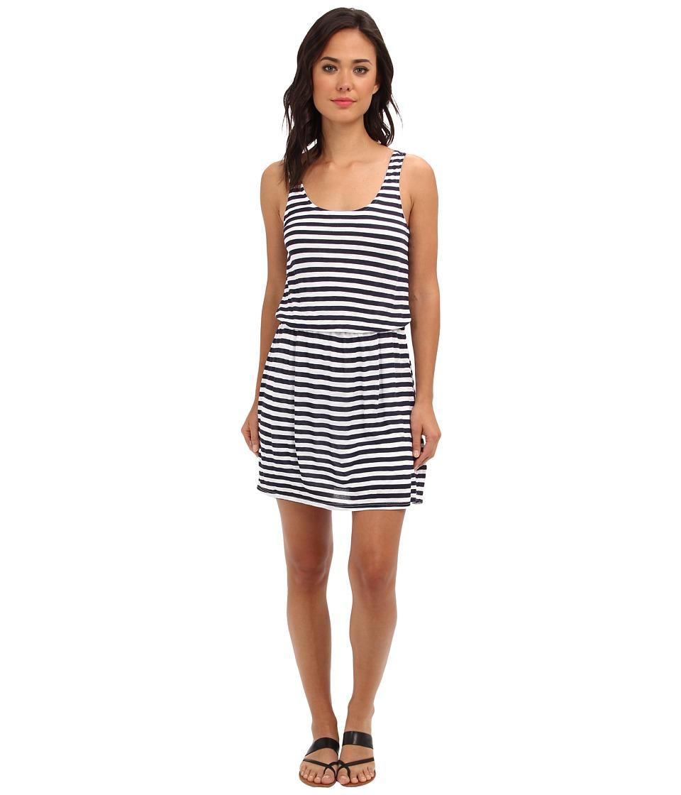 Splendid - Glen Valley Stripe Dress (Navy) Women