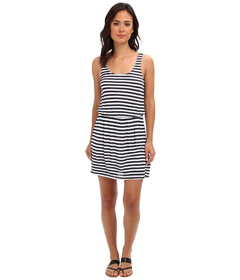 Splendid - Glen Valley Stripe Dress (Navy) Women's Dress