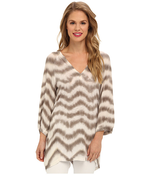 XCVI - Wildfire Tunic Top (Feather: Moonbeam) Women
