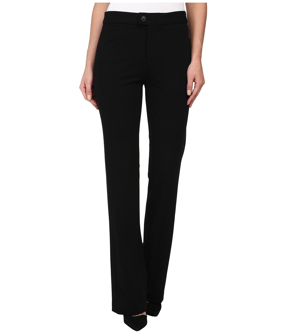 NYDJ - Ponte Trouser (Black) Women's Dress Pants